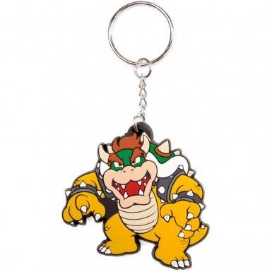 Nintendo Super Mario Bros Bowser keychain