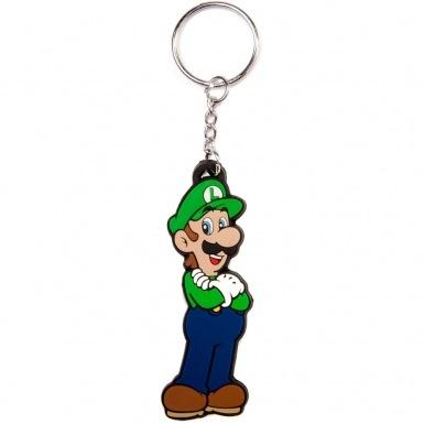 Nintendo Super Mario Bros Luigi keychain