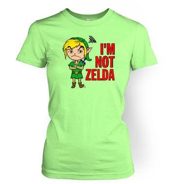 Not Zelda women's t-shirt