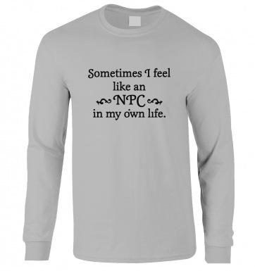 NPC In My Own Life long-sleeved t-shirt