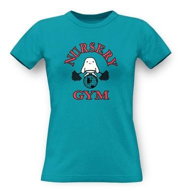 Nursery Gym classic womens t-shirt