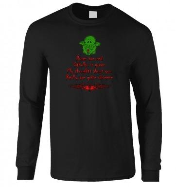 Obscene Cthulhu valentine long-sleeved tshirt
