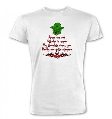 Obscene Cthulhu valentine premium t-shirt