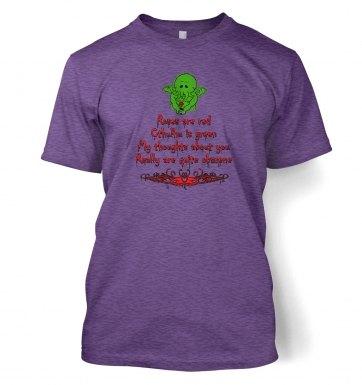 Obscene Cthulhu valentine t-shirt