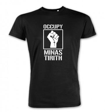 Occupy Minas Tirith premium t-shirt