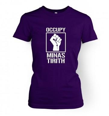 Occupy Minas Tirith women's t-shirt