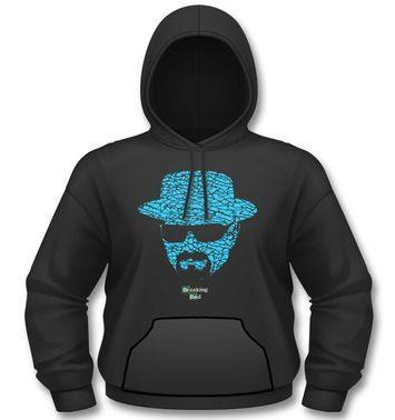 Official Breaking Bad Heisenberg Crystal Face hoodie