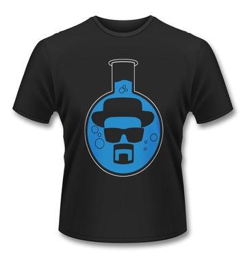 Official Breaking Bad Heisenberg Flask t-shirt