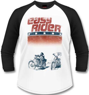 Official Easy Rider long-sleeved baseball t-shirt