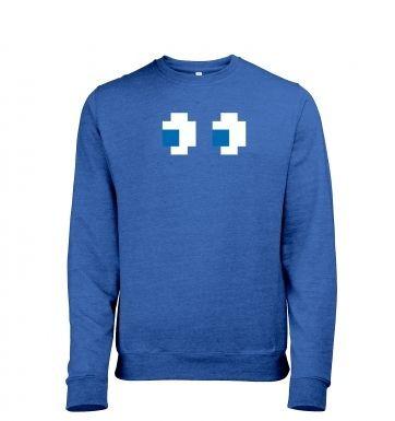 Ghost Eyes heather sweatshirt