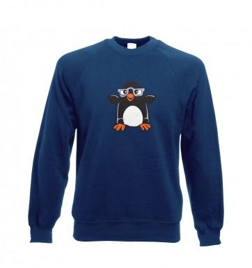 Penguin with Glasses sweatshirt