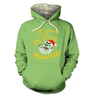 Pie Monster hoodie (premium)