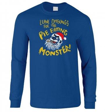 Pie Monster long-sleeved t-shirt