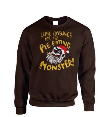 Pie Monster sweatshirt