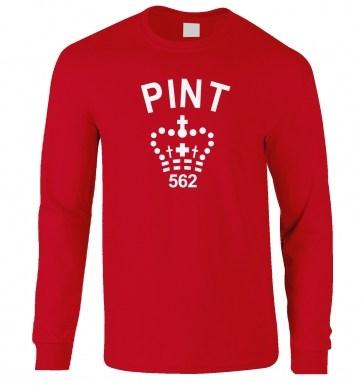 Pint long-sleeved t-shirt