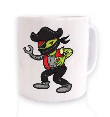 Pirate Zombie Robot Ninja mug