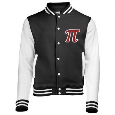 Pi Symbol varsity jacket