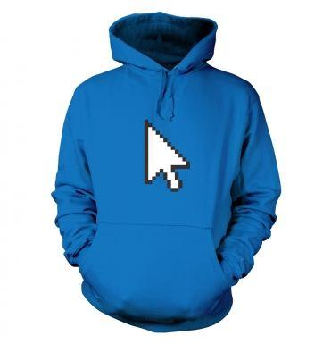Pixelated Cursor hoodie
