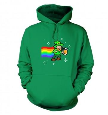 Pixellated Leprechaun hoodie