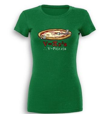 Pi.z.z.a premium women's t-shirt