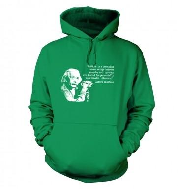 Politics Quote Einstein hoodie