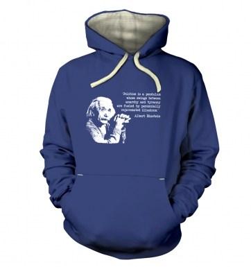 Politics Quote Einstein hoodie (premium)