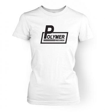 Polymer Records women's t-shirt