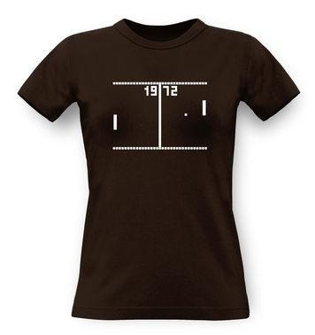 Pong classic women's t-shirt