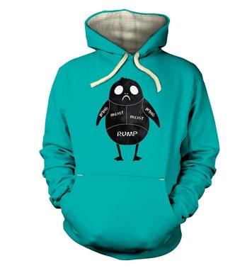 Porg Meat Cuts premium hoodie