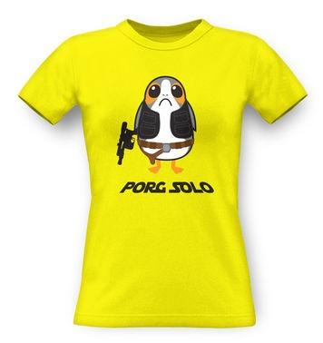 Porg Solo classic womens t-shirt