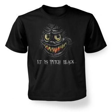 Portrait Of A Grue  kids t-shirt