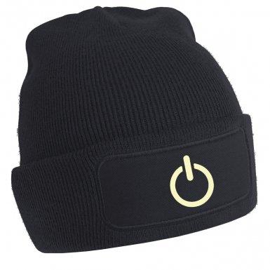 Power Symbol beanie hat (Glow In The Dark)