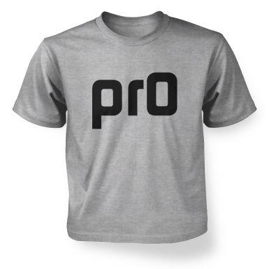 Pr0  kids t-shirt