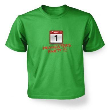 Pranksters Party kids t-shirt