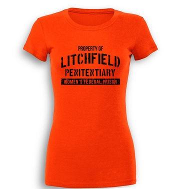 Property Of Litchfield premium women's t-shirt