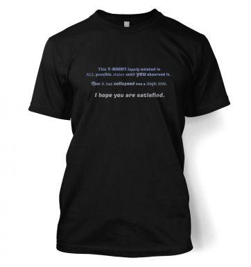 Quantum t-shirt