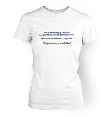 Quantum women's t-shirt