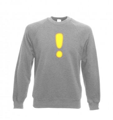 Quest Exclamation Mark sweatshirt