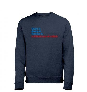 Quint and Brody heather sweatshirt