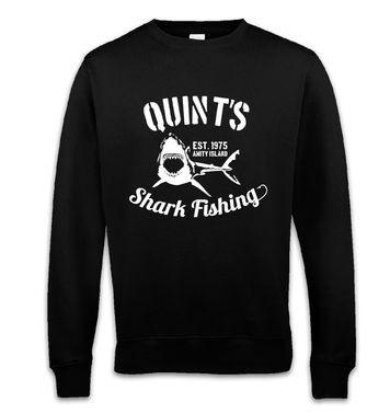 Quint's Shark Fishing sweatshirt