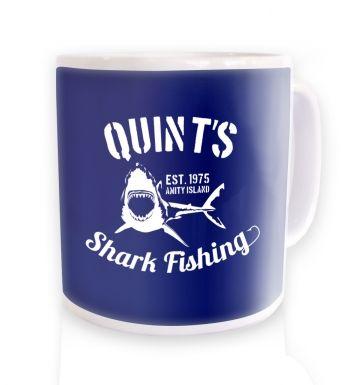 Quint's Shark Fishing mug