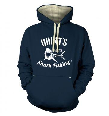 Quint's Shark Fishing hoodie (premium)