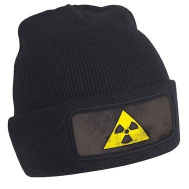 Radioactive Symbol beanie hat