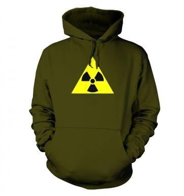 Radioactive Symbol hoodie
