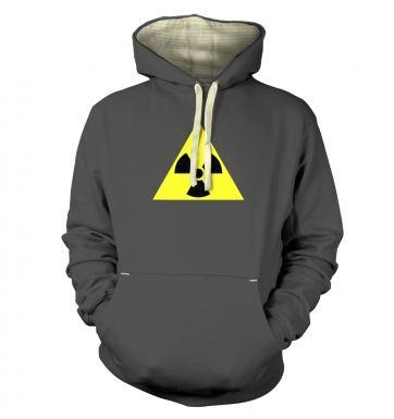 Radioactive Symbol  hoodie (premium)