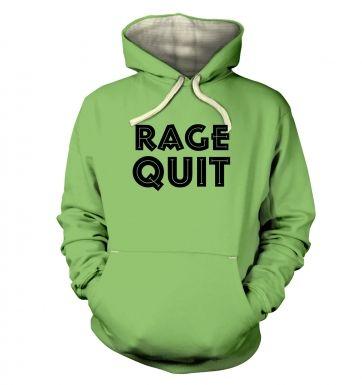 Rage Quit  hoodie (premium)