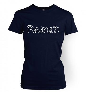 Ramen women's t-shirt