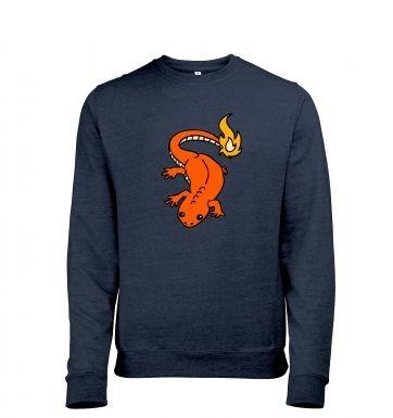 Real Life Charmander heather sweatshirt