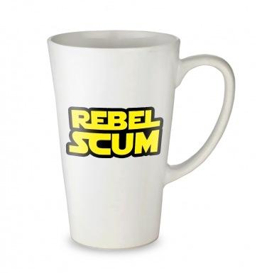 Rebel Scum tall latte mug