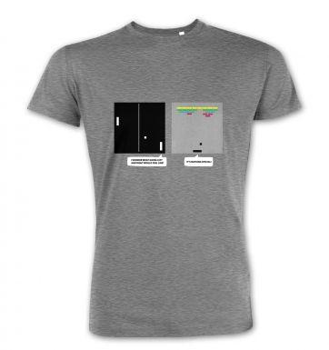 Wonder Of Dimenions retro gaming premium t-shirt